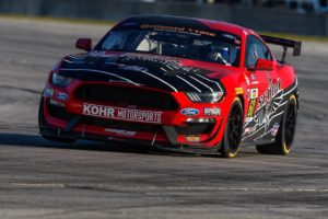 KohR Motorsports Mustang GT4 Wins IMSA Continental Tire Sports Car Challenge GS at Sebring on Forgeline One Piece Forged Monoblock GS1R Wheels