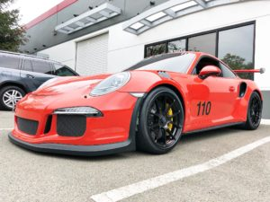 Alekshop-Prepped Porsche GT3RS on Forgeline One Piece Forged Monoblock GA1R Wheels