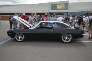 "Stuart Adam's ""TUX"" '69 Camaro on Detroit Speed-designed Forgeline wheels"