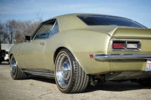 """Roadster Shop's """"Goldie"""" 1968 Camaro on Forgeline RS-OE1 Wheels"""