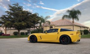 Sharad's C6 Corvette Z06 on Forgeline One Piece Forged Monoblock GS1R Wheels