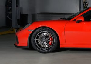 Harrop Engineering's Porsche 991 GT3 on Forgeline Carbon+Forged CF201 Wheels