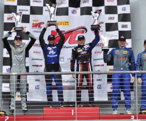 PF Racing and Blackdog Speed Shop on the GTS Podium at Pirelli World Challenge COTA