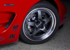 Ryan Mathews' C5 Corvette Z06 on Forgeline GF3 Open Lug Wheels