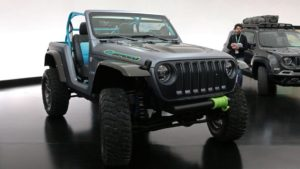 "Jeep Wrangler ""4Speed"" Concept on Forgeline One Piece Forged Monoblock VX1 Wheels"