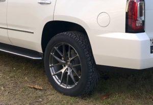 "Lawson Aschenbach's GMC Yukon ""Daddy Wagon"" on Forgeline One Piece Forged Monoblock VX1-Truck Wheels"