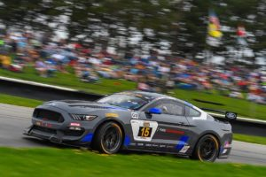 Multimatic Motorsports #15 Ford Mustang GT4 Second at Mid-Ohio
