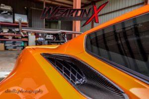 Weapon X Motorsport's 800HP C7 Corvette ZR1 on Forgeline One Piece Forged Monoblock VX1R Wheels