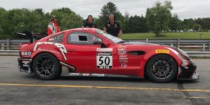 In race number 2, the class win went to Ian James & Mathew Keegan, in their #50 Panoz Avezzano on Forgeline GS1R Wheels!