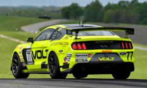 VOLT Racing #77 Ford Mustang GT4 Wins at VIR