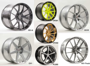 Seven New Forgeline Wheels Debut at the 2016 SEMA Show