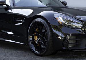 Scott Gold's Mercedes AMG GT R on Forgeline One Piece Forged Monoblock VX1 Wheels