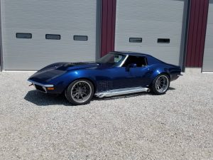 Eric Fleming's 650HP LT4-Powered '71 Corvette on Forgeline ML3C Concave Wheels