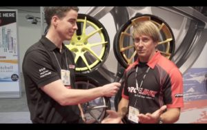 Harrop Engineering's Heath Moore and Forgeline's Dave Schardt Discuss the New Carbon+Forged Wheels, at the 2016 SEMA Show