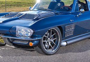 Heartland Customs' 1963 Corvette Stingray on Forgeline VX3C Wheels