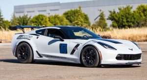 Mike's C7 Corvette Grand Sport on Forgeline one piece forged monoblock GA1R wheels