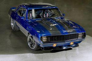 Blackdog Speed Shop's pro-touring '69 Camaro on Forgeline CF3C Concave wheels
