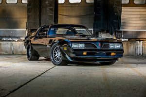 Tony Schumacher's 1977 Pontiac Trans Am on Forgeline DE3C Concave Wheels