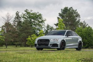 Gary Smith's Audi RS3 on Forgeline One Piece Forged Monoblock ZH1 Wheels