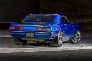 Blackdog Speed Shop's pro-touring '69 Camaro on Forgeline CF3C Concave wheels