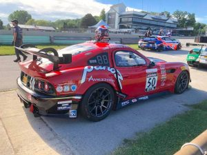 Ian James earns a pair of wins at Road America in the #50 Panoz Avezzano on Forgeline one piece forged monoblock GS1R wheels!