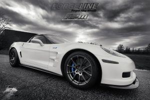Fran's Race Proven Motorsports C6 Corvette ZR1 on Forgeline One Piece Forged Monoblock GA1R Wheels