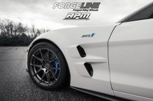 Fran's Race Proven Motorsports C6 Corvette ZR1 on Forgeline One Piece Forged Monoblock GA1R Wheels