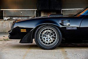 Tony Schumacher's 1977 Pontiac Trans Am on Forgeline DE3C Concave Wheels