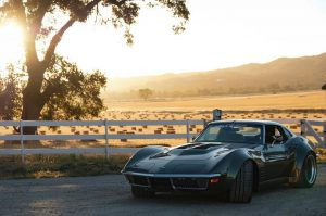 "Garrett Randall's ""Rambo"" 1970 Corvette Stingray on Forgeline GA3R Wheels"