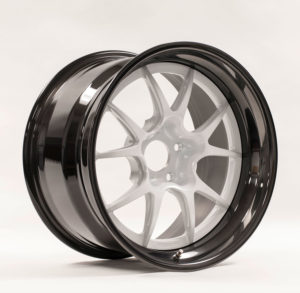 Forgeline GA3R Open Lug Finished with Pearl White Center and Black Pearl Inner & Outer