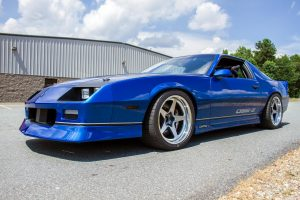 "Detroit Speed's ""DSE-Z"" 1987 Chevrolet Camaro on Forgeline FF3C Open Lug Wheels"