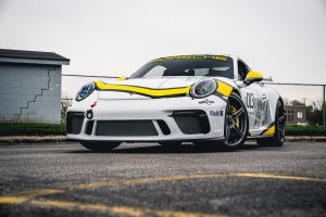 Scott Forster's Porsche 991.2 GT3 on Forgeline One Piece Forged Monoblock SC1 Wheels