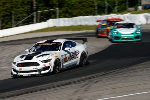 AWA Racing's #80 Ford Mustang GT4 second at Canadian Tire Motorsports Park on Forgeline one piece forged monoblock GS1R wheels