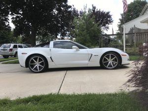 Joe Civello's C6 Corvette Z06 on Forgeline CV3C Concave Wheels