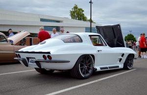 Steve Locklin's Pro-Touring 1964 Corvette Stingray on Forgeline One Piece Forged Monoblock GA1R Wheels