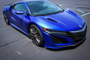 Chicago Motor Cars' Graham Rahal Performance-Tuned Acura NSX on Forgeline Carbon+Forged CF203 Wheels