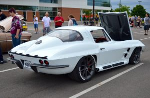 Steve Locklin's Pro-Touring 1964 Corvette Stingray on Forgeline One Piece Forged Monoblock GA1R Wheels