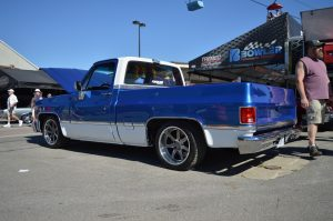 Bowler Performance Transmissions' 1986 GMC Sierra Shop Truck on Forgeline CV3C Wheels