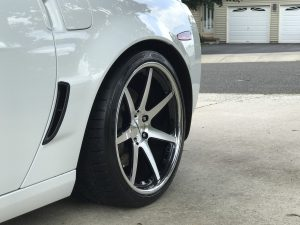 Joe Civello's C6 Corvette Z06 on Forgeline CV3C Concave Wheels