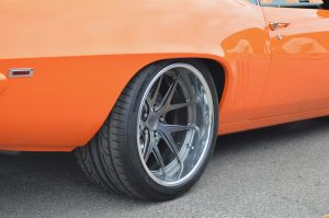 Bent Metal Customs 1969 Camaro on Forgeline VX3C Wheels