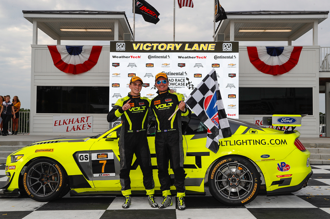 Speed Syndicate Ford Mustang GT4 Wins at Road America on Forgeline One Piece Forged Monoblock GS1R Wheels