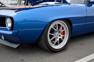 Brad Grant's Chassis Crafters '69 Camaro Convertible on Forgeline GA3 Wheels