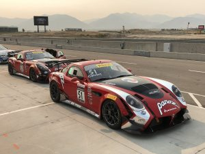 Panoz Scores Big at Pirelli World Challenge Utah on Forgeline GS1R Wheels