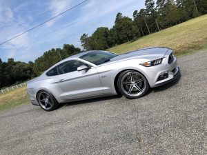 Reed's 1000HP Twin Turbo Petty's Garage Ford Mustang GT on Forgeline SC3C-SL Concave Wheels