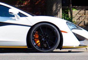 Pfaff Tuning McLaren 570S on Forgeline One Piece Forged Monoblock GT1 5-Lug Wheels