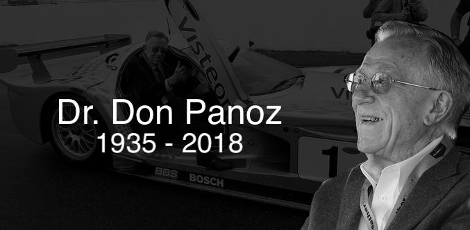 Dr. Don Panoz, 1935-2018
