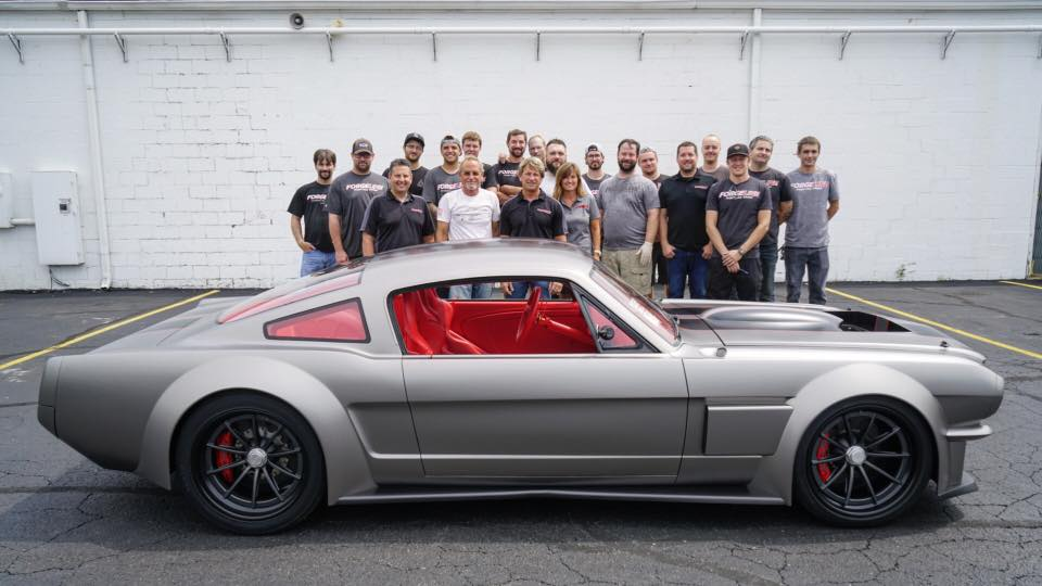 Forgeline team with the Vicious Mustang