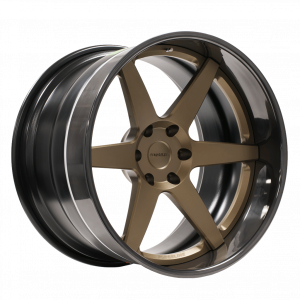 Forgeline CV3C-Truck finished with Medium Anodized Bronze center and Black Pearl outer