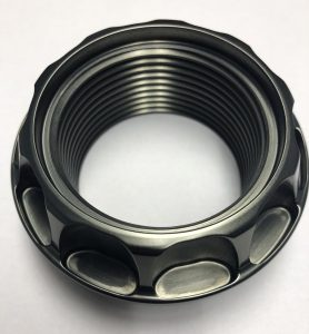 Forgeline GT2 Centerlock Nut With New Scalloped Head