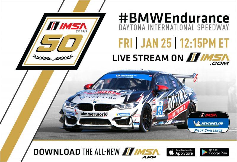 Imsa Live Stream >> 2019 Michelin Pilot Challenge Season Kicks Off At Daytona